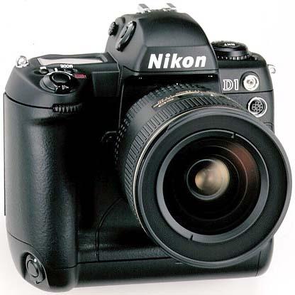 Nikon D1 Professional Digital SLR (Chip Shop 07/99)